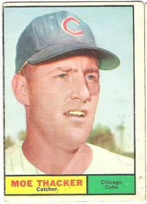 '61 Moe Thacker..