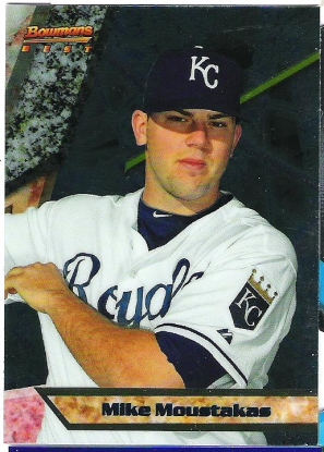 2011 Bowman Mike Moustakas Bowman's Best Prospects..
