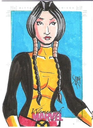 Dani Moonstar by Cal Slayton..