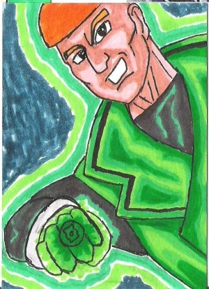 Green Lantern Guy Gardner..